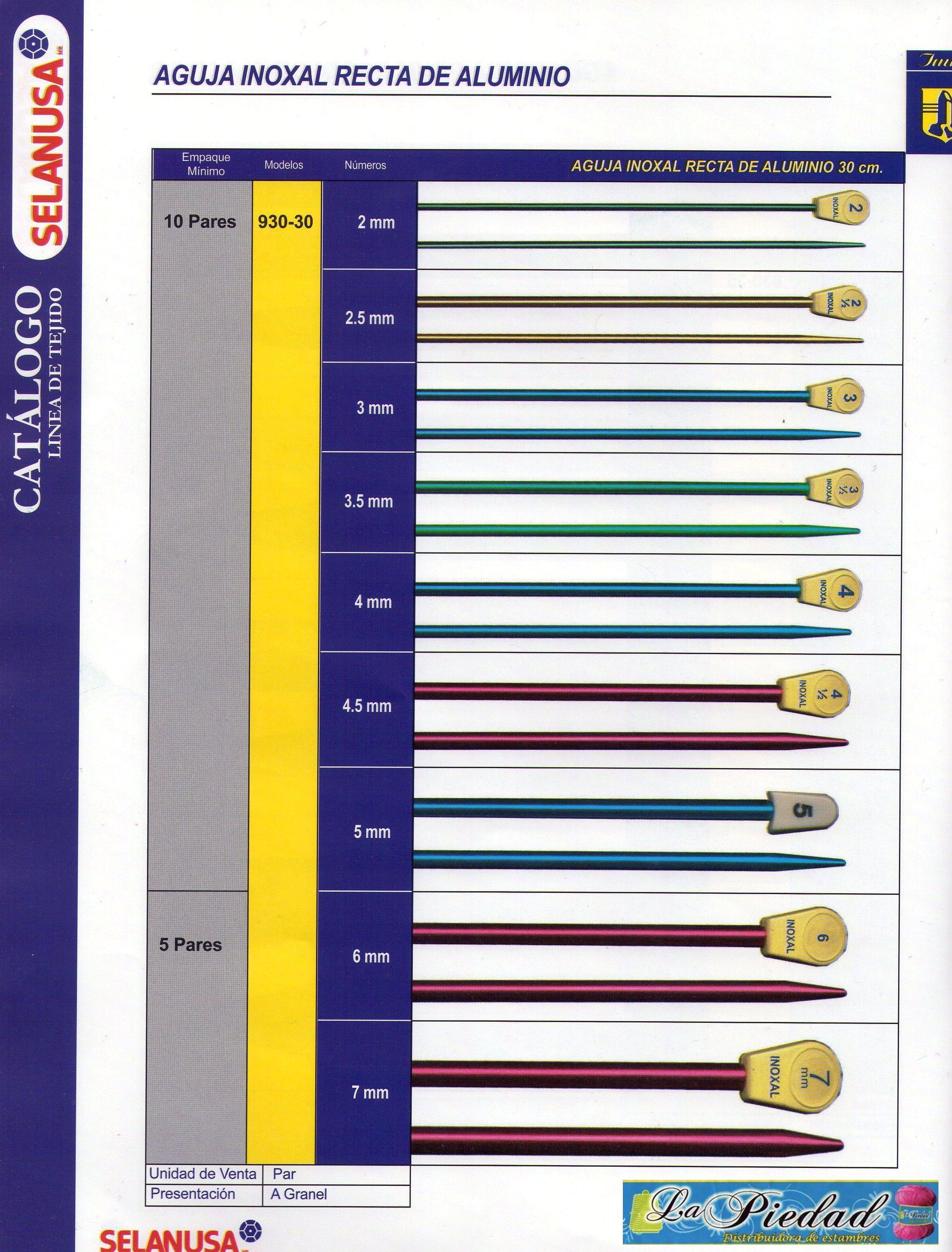 Catalogo de accesorios estambres for Catalogo de accesorios